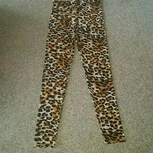 Leopard Leggings NWOT Sm/Med